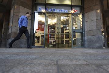 Les profits de Bank of Americareculent de 23%)