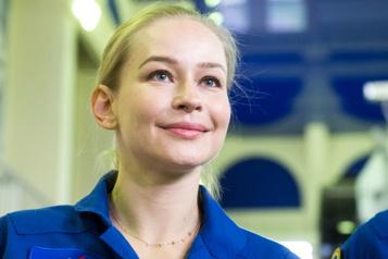 Premier film de fiction en orbite «Trop tard pour avoir peur», dit l'actrice qui s'envolera vers l'ISS)