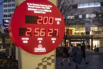 À 200 jours des Jeux olympiques de Tokyo)