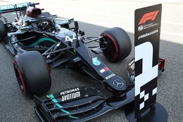 Hamilton à nouveau en pole en Espagne, Stroll5e)
