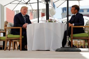 G7: les Européens interpellent Trump sur le commerce