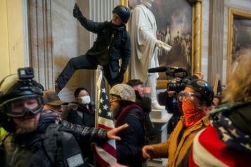 Assaut au Capitole  Les émeutiers voulaient capturer et assassiner des élus)
