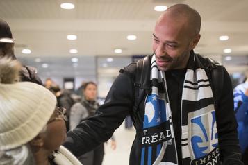 Thierry Henry atterrit à Montréal