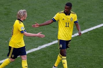 Suède1 - Slovaquie0 La Suède se rapproche de la qualification à l'Euro)