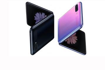 Samsung présente le Galaxy Z Flip