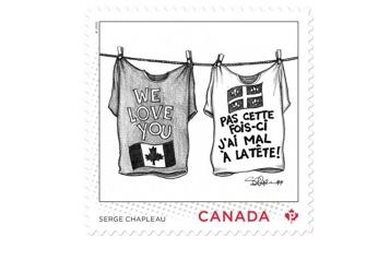 Postes Canada rend hommage à Serge Chapleau