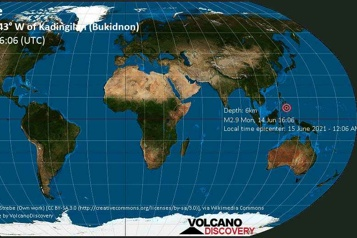Un séisme de magnitude5,7 frappe les Philippines)