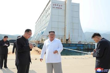 Kim Jong-un veut détruire un complexe touristique construit par le Sud