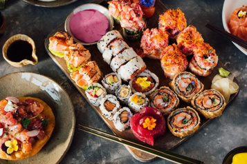 Cap sur les sushis auBlossom)