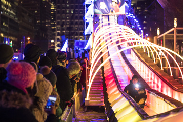 Peu de musique, mais des centaines d'activités extérieures à Montréal en lumière