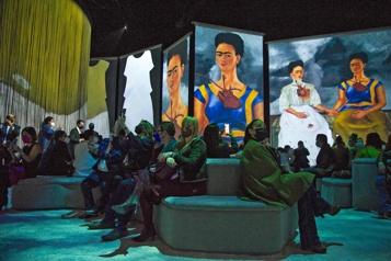 Mexico Frida Kahlo numérisée pour une exposition)