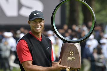 Woods écrit une nouvelle page d'histoire de la PGA