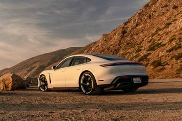 Les rivales de la Porsche Taycan)