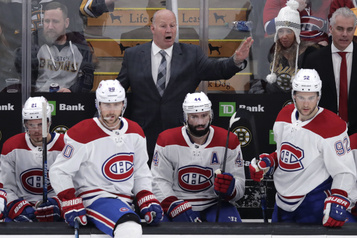 « On se bat pour une place en séries », soutient Claude Julien
