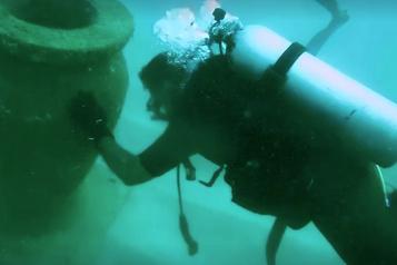 Ouverture d'un musée sous l'eau au Sri Lanka)
