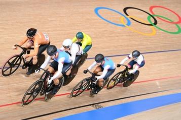 Cyclisme sur piste Lauriane Genest remporte le bronze au keirin féminin)
