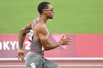 Athlétisme Andre DeGrasse le plus rapide aux préliminaires du 100m)