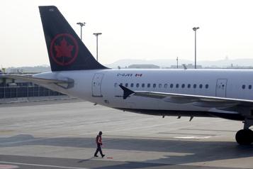 Perte moins importante au 2etrimestre pour Air Canada)