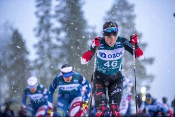 Ski de fond Meilleur résultat individuel en carrière aux Mondiaux pour Katherine Stewart-Jones)