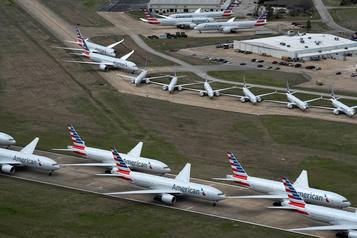 États-Unis: les démocrates veulent une aide rapide aux compagnies aériennes