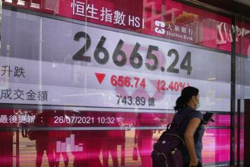Réglementations La Chine serre la vis à des secteurs porteurs de sonéconomie)