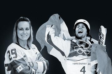 L'athlète québécois de la décennie: Marie-Philip Poulin c. AlexandreBilodeau