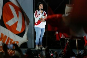 Élection au Pérou Le camp Fujimori maintient ses accusations de «fraudes»)