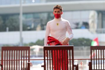 Formule 1 Charles Leclerc atteint de la COVID-19)