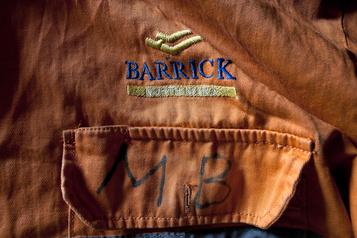 Barrick a produit 1,16?million d'onces d'or au 3e?trimestre)