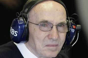 Formule 1 Frank Williams hospitalisé dans un «état stable» )