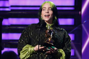 Billie Eilish, grande gagnante des prix Grammy