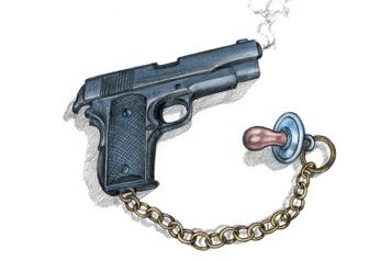 Armes à feu à Montréal Des utilisateurs de plus en plus jeunes)