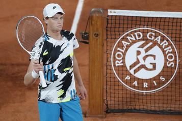 Roland-Garros Jannik Sinner surprend David Goffin au 1ertour)