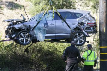L'accident de Tiger Woods dû à une vitesse «dangereuse»)