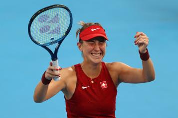 Tennis Belinda Bencic première qualifiée pour la finale)