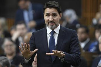 Blocus ferroviaire: la prudence de Justin Trudeau