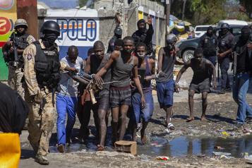 Haïti Plusieurs personnes tuées lors de l'évasion de détenus d'une prison)