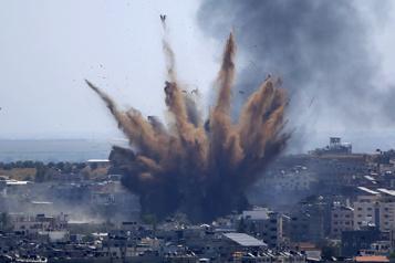 Conflit de Gaza en mai HRW accuse Israël et le Hamas de «crimes de guerre présumés» )