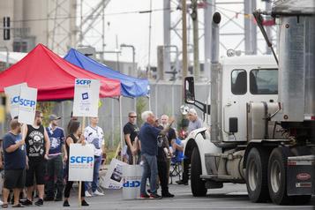 Grève au port de Montréal: des négociations toute la semaine)