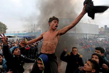 «Historique» selon Israël, le plan Trump suscite la colère des Palestiniens