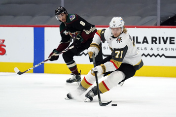 Karlsson marque et les Golden Knights gagnent 1-0)