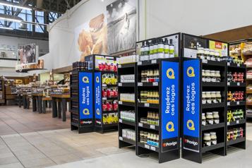 Supermarchés Les produits québécois ont?la?cote)