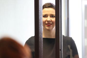 Biélorussie Début du procès de la figure de l'opposition Maria Kolesnikova)