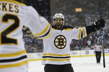Bruins: David Krejci sur la liste des blessés