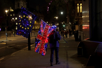 Brexit : les conditions d'un accord « pas réunies » )
