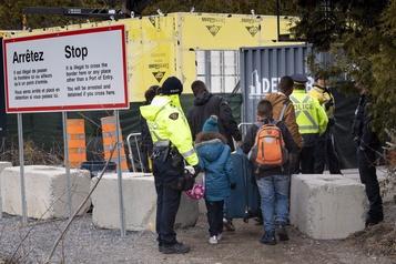 Le nombre de migrants interceptés par la GRC baisse légèrement