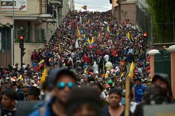 Équateur: cinq morts dans les manifestations, selon un nouveau bilan