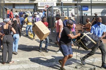 Pillages en Afrique du Sud Les premiers suspects ont comparu devant la justice)