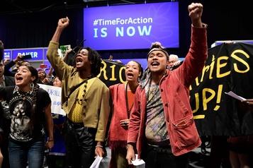 COP25: de jeunes militants expulsés après une manif surprise
