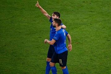 Euro L'Italie, premier pays qualifié pour les huitièmes de finale)